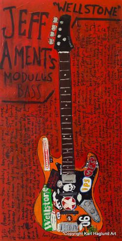 Guitar Art Jeff Ament