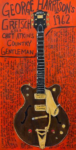 George Harrison Guitar Art