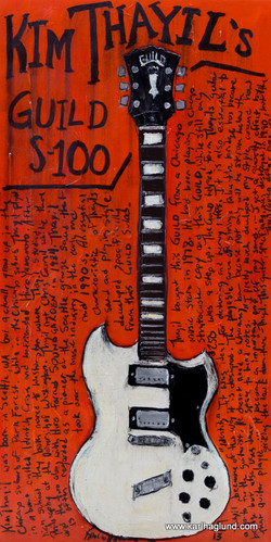 Kim Thayil Guitar Art