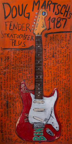 Doug Martsch Guitar Art