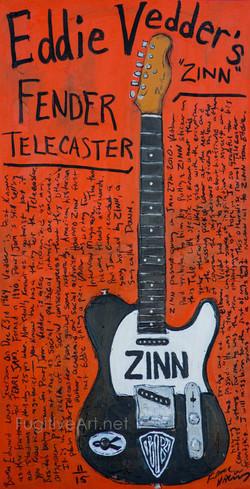 Eddie Vedder Zinn Tele