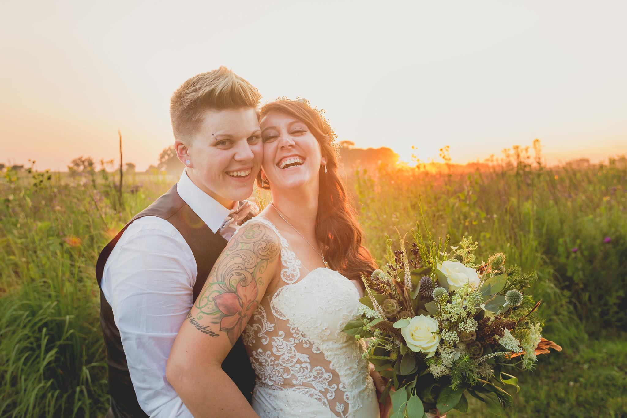 midwest same sex wedding photographer