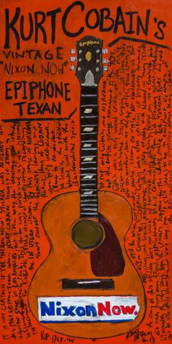 Kurt Cobain Epiphone Art