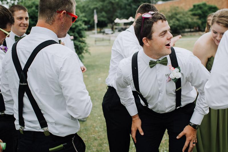 Iowa wedding funny