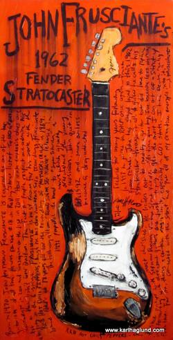 John Frusciante Stratocaster Art