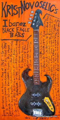 Nirvana Krist Novaselic bass guitar