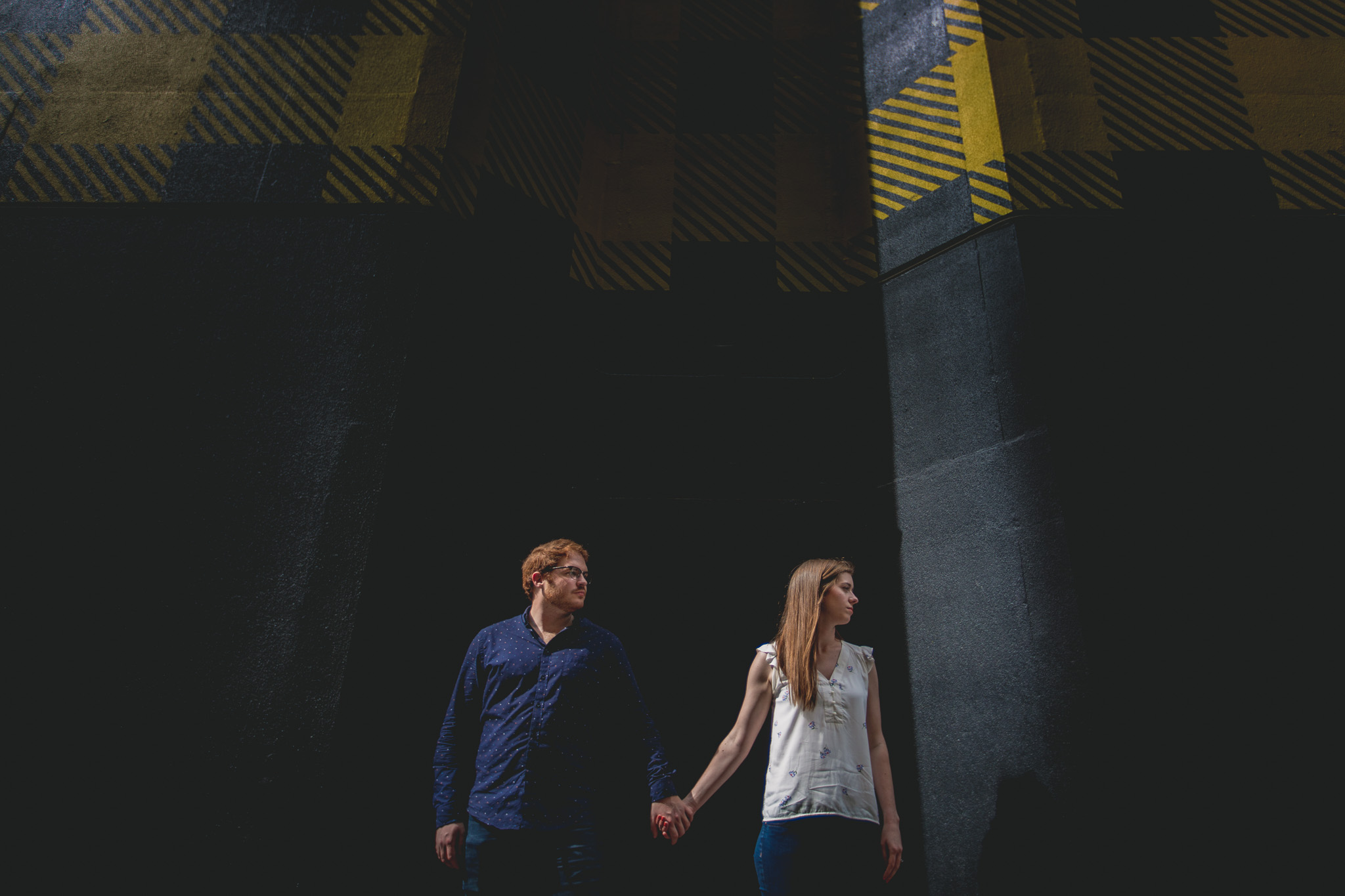Engagement photographer in Iowa