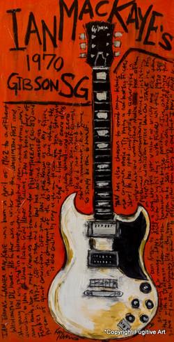 Ian MacKaye SG Painting
