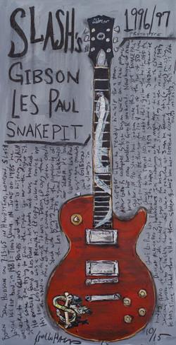 Guitar Print Slash