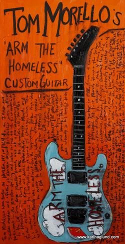 Tom Morello Guitar Art