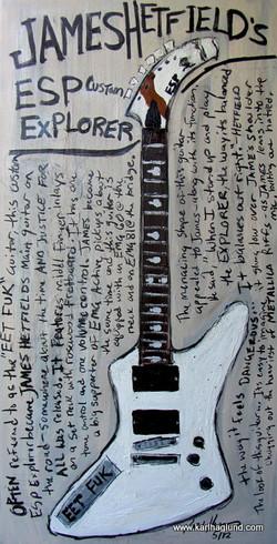 James Hetfield Art