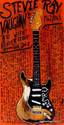 SRV's Stratocaster #1 Art