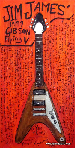 Jim James Guitar Art