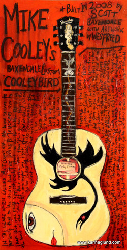 Mike Cooley Guitar Art