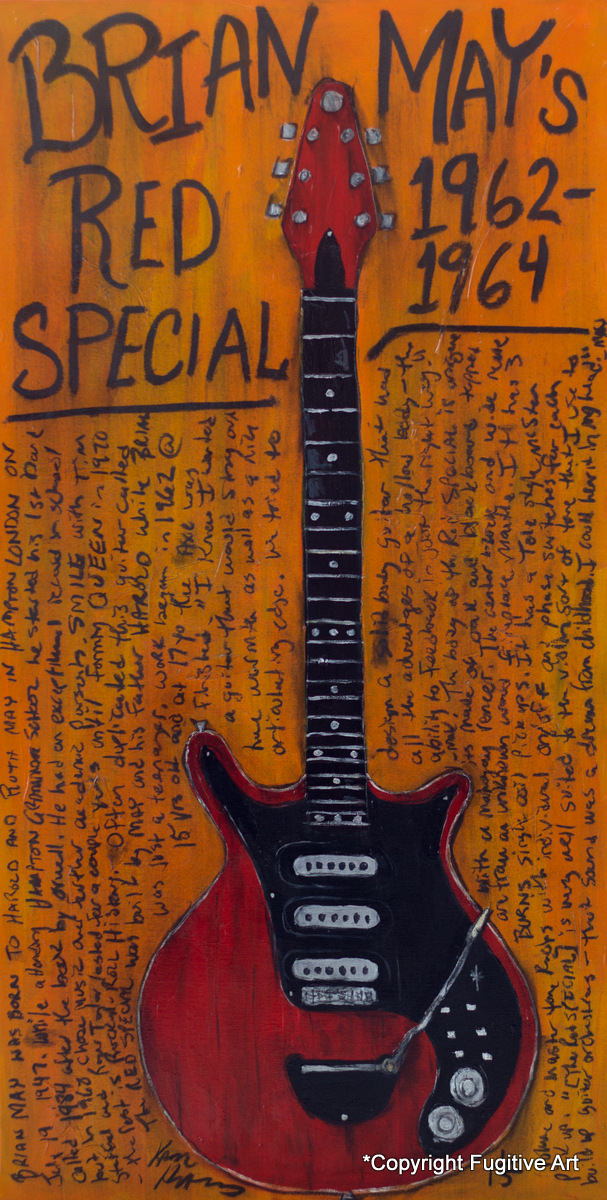 Red Special Brian May Art