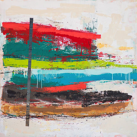 Iowa artist contemporary abstract