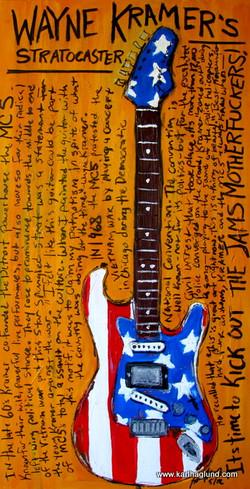 Guitar Art Wayne Kramer