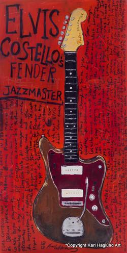 Elvis Costello Jazzmaster