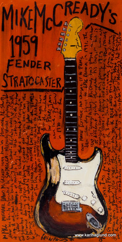 Mike McCready Guitar Art