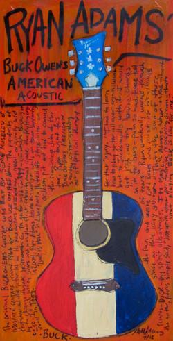 Ryan Adams Buck Owens Guitar