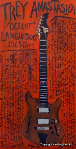 Trey Anastasio Guitar Art
