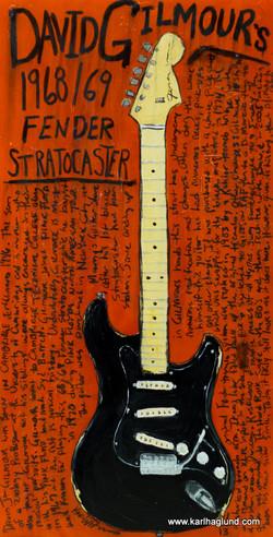 David Gilmour Stratocaster Guitar