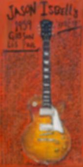 Jason Isbell Gibson Les Paul Red Eye Gui