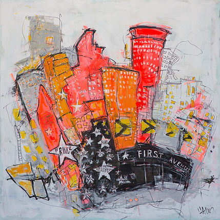 Minneapolis Painting with first avenue