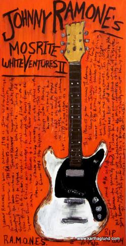Johnny Ramone Mosrite guitar
