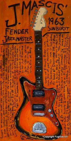 J Mascis Jazzmaster