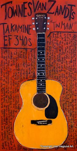 Townes Van Zandt Acoustic art