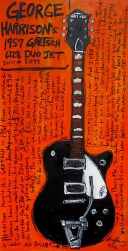 Guitar Poster George Harrison