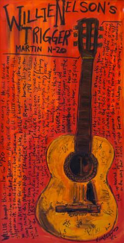 Willie Nelson Trigger Art