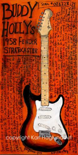 Buddy Holly Stratocaster Guitar
