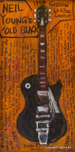 Neil Young Old Black Art