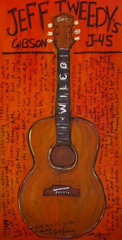 Guitar Art - Jeff Tweedy Wilco