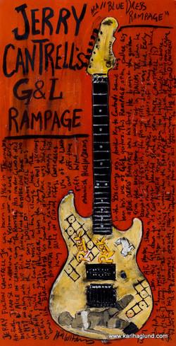 Jerry Cantrell Guitar Art