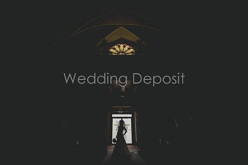 Deposit for Wedding Package