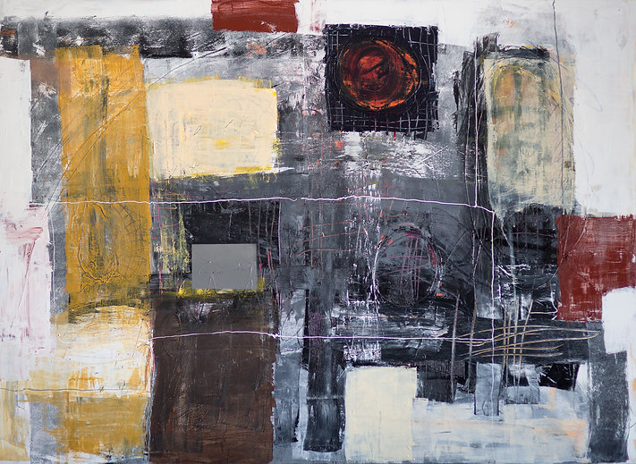 Contemporary abstract iowa artist