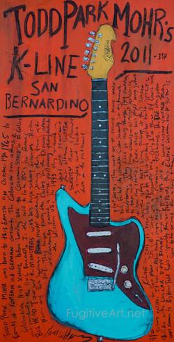 Guitar Painting Park Mohr