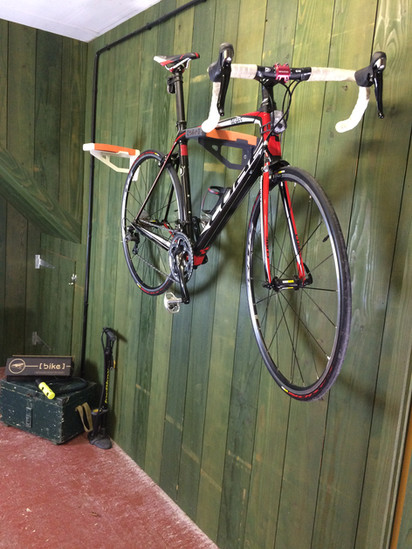 top tube mounted bike support