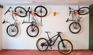 garage bike store idea