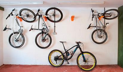 garage bike store idea
