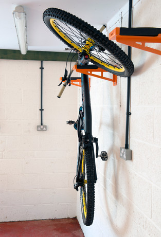 bicycle wall shelf