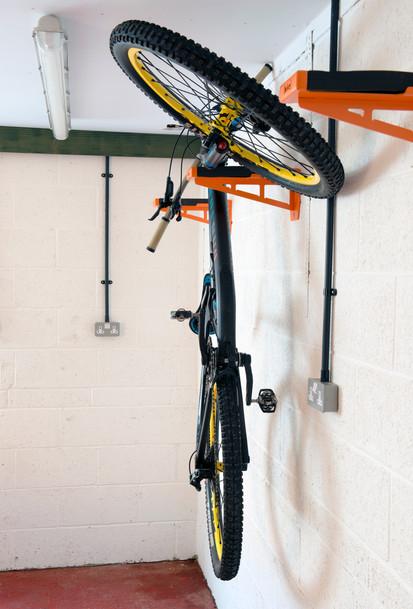 bicycle wall shelf