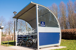 CURL Mini Bike Shelter