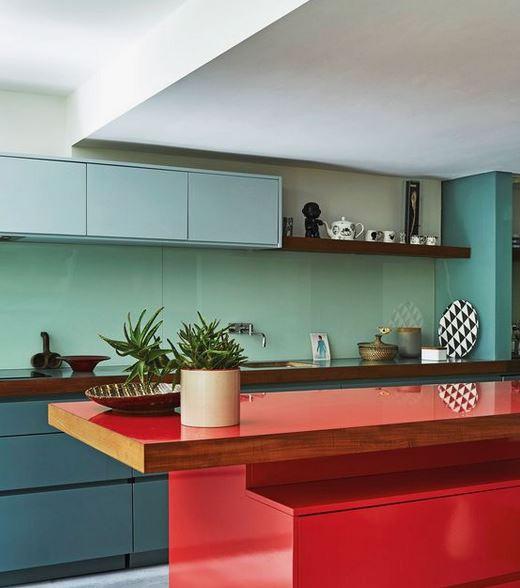 Bold Kitchen Colour