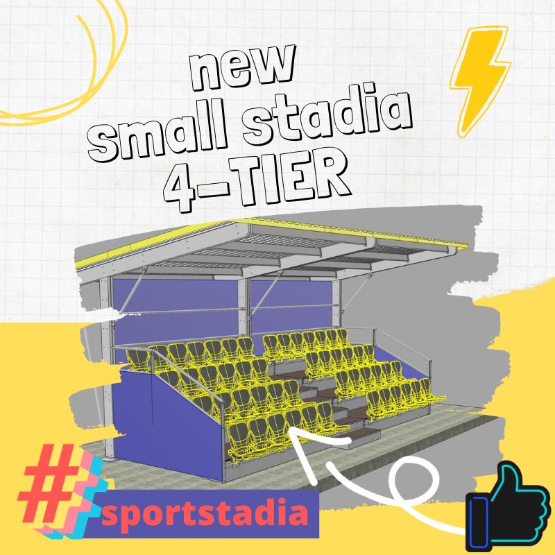 NEW 4-TIER Stadia