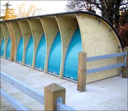 School Bike Bunkers