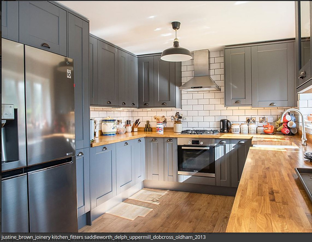 Justine Brown Joinery Very Fitted Kitchen